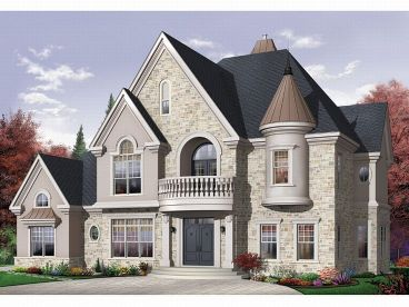 European Home Plan, 027H-0097