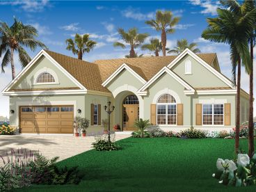 Sunblet Home Plan, 027H-0377