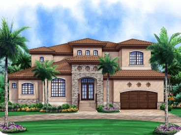 Luxury House Plan, 069H-0006