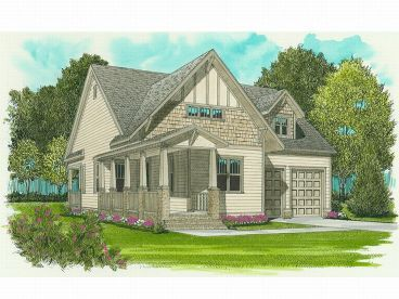 Bungalow Home Plan, 029H-0002