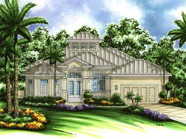Coastal Home Design, 040H-0045