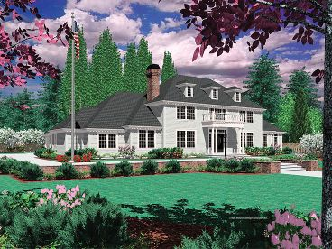 Colonial Home Design, 034H-0130