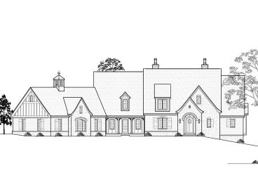Euroepan House Plan, 055H-0009
