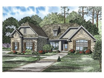 Ranch House Plan, 025H-0215