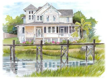Country House Plan, 041H-0133