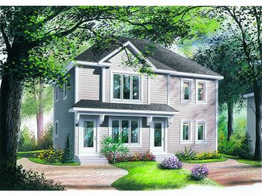 Multi-Family House Plan, 027M-0023