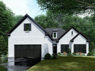 Ranch House Plan, 074H-0114