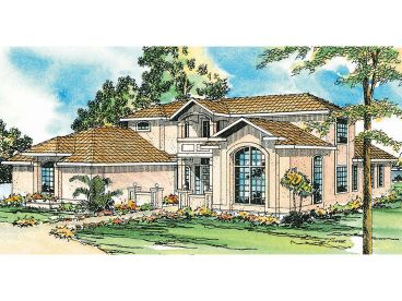 Sunbelt House Plan, 051H-0054