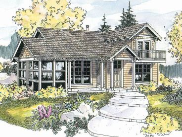 Vacation House Plan, 051H-0125