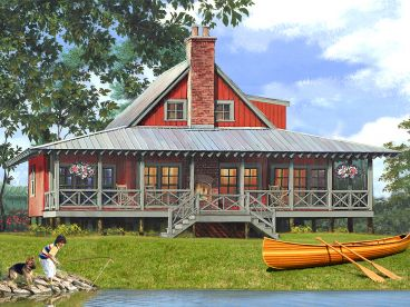 Waterfront House Plan, 063H-0222