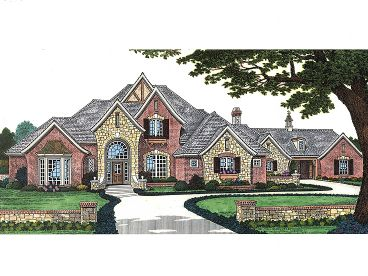 Luxury House Plan, 002H-0074