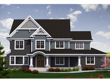 Two-Story House Plan, 020H-0383