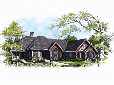 Ranch Home, 020H-0041