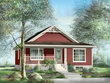 country cottage plan 072h 0179 - Country House Plans