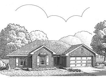 Affordable House Plan, 054H-0074