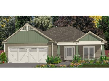 Craftsman Home Plan, 073H-0098