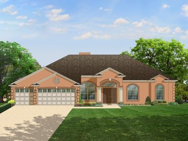 Sunbelt House Plan, 064H-0028