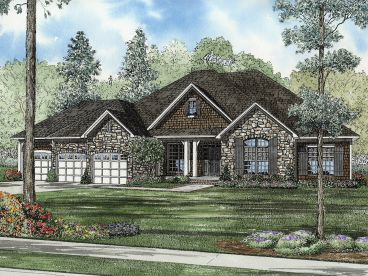 European House Plan, 025H-0359