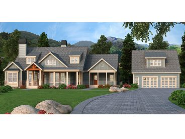 Craftsman Home, 053H-0076