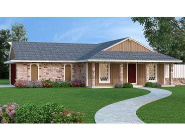 Affordable Home Plan, 021H-0239