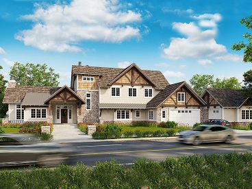 Craftsman House Plan, 066H-0031