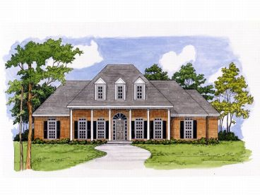One-Story Home Design, 019H-0040