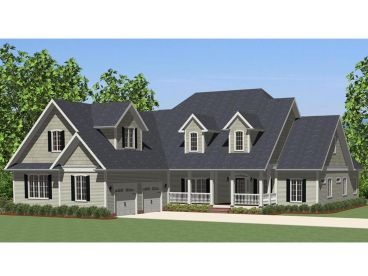 Country Home Design, 067H-0020