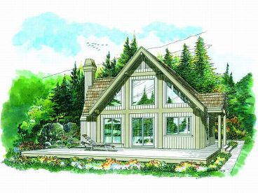 Vacation Home Plan, 032H-0052