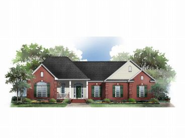 One-Story House Plan, 001H-0083
