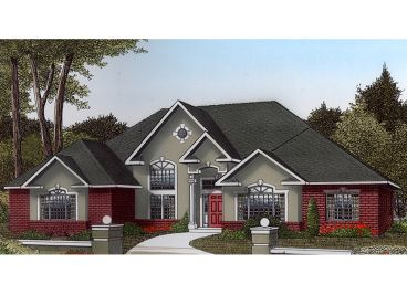 Ranch House Plan, 044H-0035