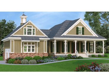 Small Two-Story House Plan, 021H-0259