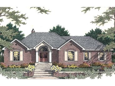 Traditional House Design, 042H-0034
