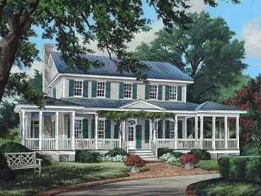 Country House Plan, 063H-0205