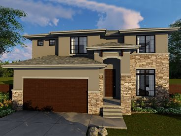 Tuscan House Plan, 050H-0106