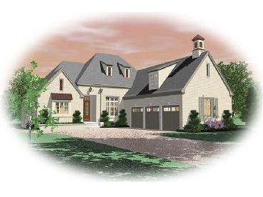 Luxury House Plan, 006H-0115