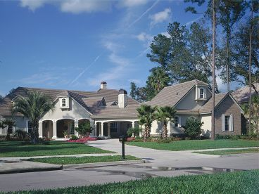 Luxury Home Plan Photo, 043H-0179