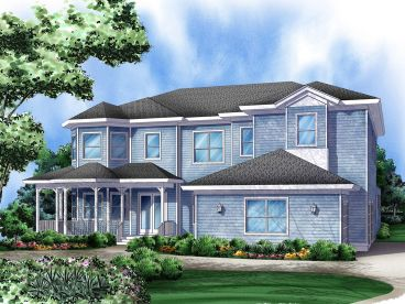 Luxury Home Plan, 070H-0005