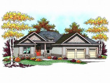 Craftsman Home Design, 020H-0163