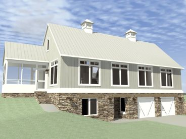 Country House Plan, 052H-0087
