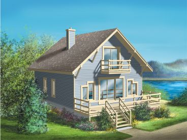 Vacation House Plan, 072H-0019
