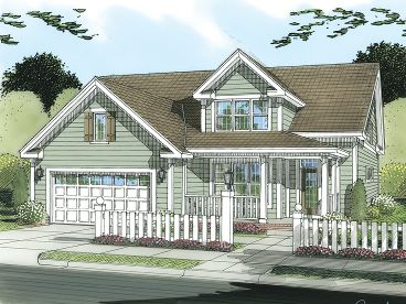 2-Story House Plan, 059H-0113