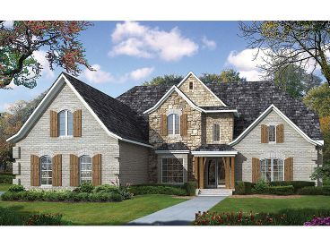 Craftsman European Home, 025H-0182