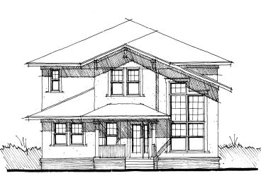 Unique House Plan, 052H-0022