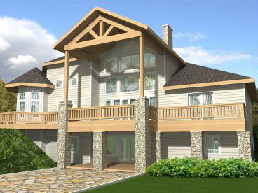 Mountain Home Plan, 012H-0020