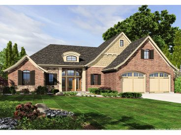 Ranch House Plan, 046H-0078