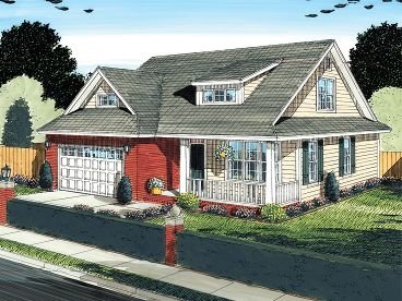 Affordable Home Plan, 059H-0136