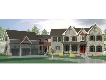 Premier Luxury House Plan, 019H-0202