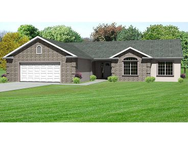 Traditional Home Plan, 048H-0057