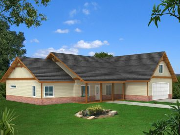 Family House Plan, 012H-0181
