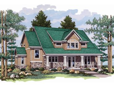 Country Craftsman House, 023H-0127